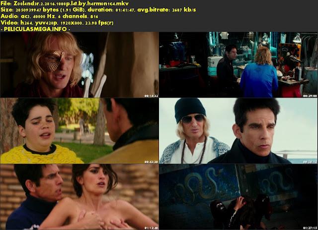 Descargar Zoolander 2 Latino por MEGA.