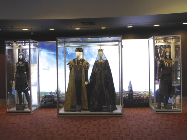 Assassins Creed film costume exhibit