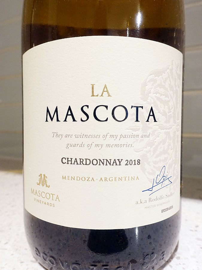Santa Ana La Mascota Chardonnay 2018 (89 pts)
