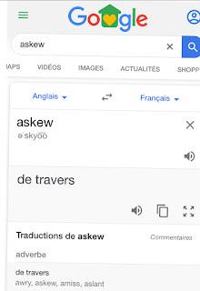 Askew : Easter Egg de Google