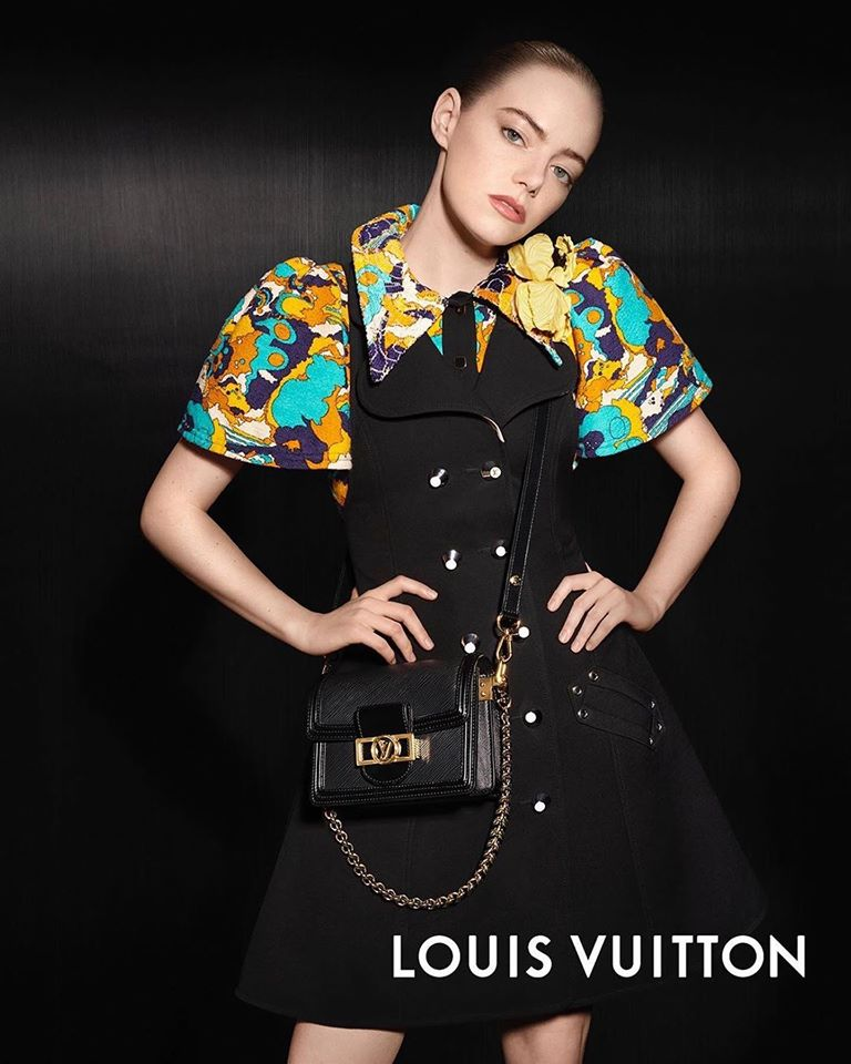 Emma Stone channels classical French style as she takes centre stage in new Louis Vuitton Spring/ Summer 2020 campaign