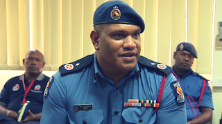 Commissioner of Police, David Manning