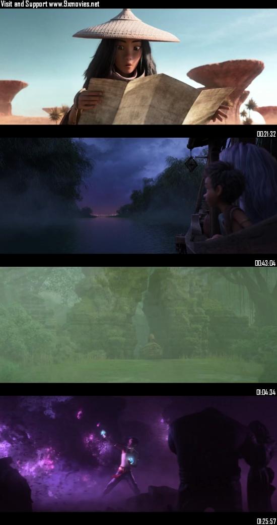 Raya and the Last Dragon 2021 Dual Audio Hindi 720p WEB-DL 900mb