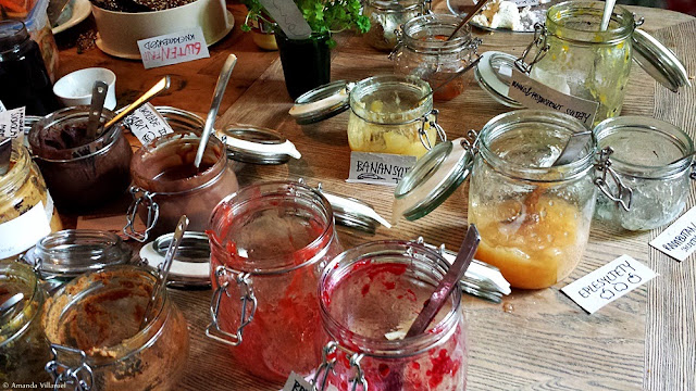 Various homemade jam at Restaurant Day in Oslo
