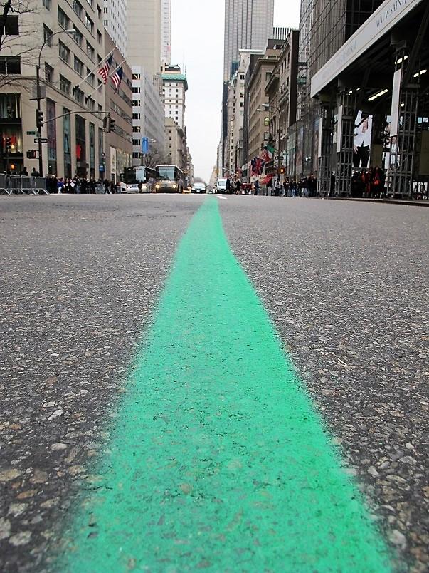 Green line NYC