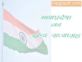 Madhya Pradesh Flag Satyagraha
