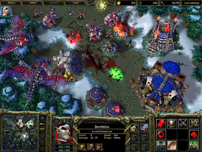Download Warcraft 3: Reign of Chaos games