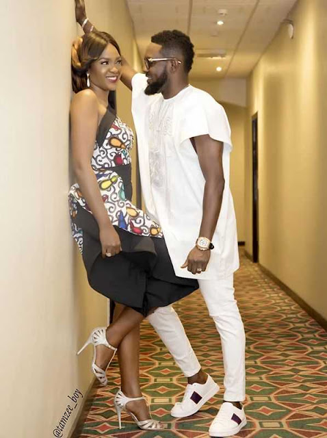 AY Makun And Omoni Oboli Create 'Stew' Moment