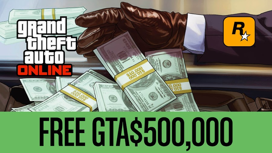 gta online $500K free money may 2020 rockstar games 2013 crime action-adventure game grand theft auto 5
