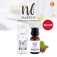 Dusdusan Nafico Essential Oil Deep Breath ANDHIMIND