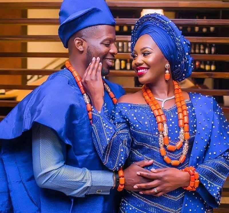 2021 Latest Yoruba Traditional Wedding Attire For Bride and Groom