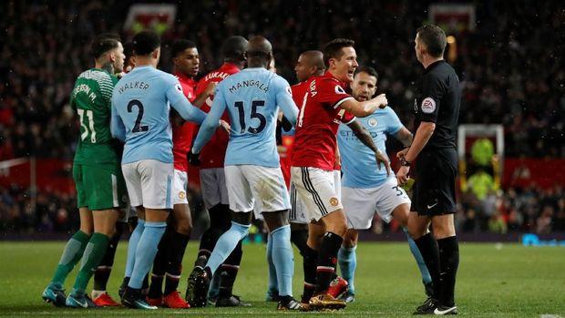Man City Diperkirakan Akan Menang Telak Melawan Man Utd 2019