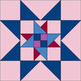 Combination Star quilt block pattern | DevotedQuilter.com