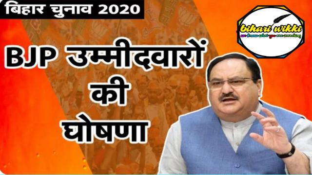 BJP ने जारी की उम्मीदवारों की आखिरी लिस्ट, इन चेहरों को मिला टिकट, यहां देखिये पूरी लिस्ट