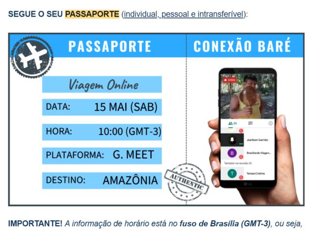Passaporte Conexão Baré
