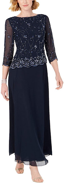 Beautiful Navy Blue Mother of The Bride Dresses