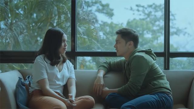 Carlo Aquino as Gali and Maine Mendoza as Mara in 'Isa Pa with Feelings'