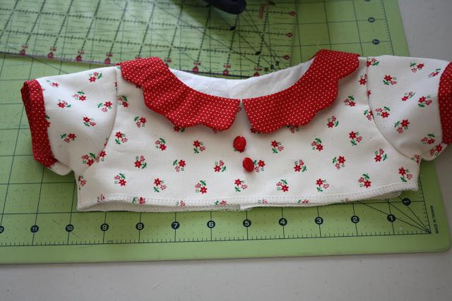 bustier de robe bébé DIY