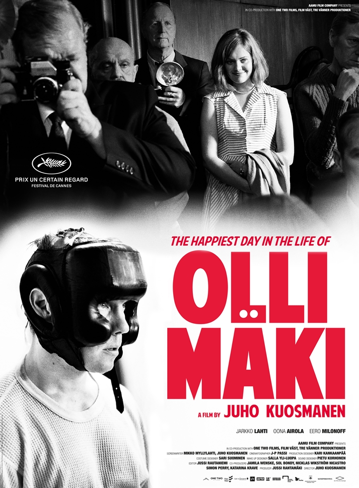 Póster: The happiest day in the life of Olli Mäki