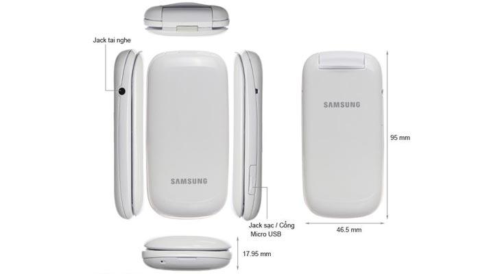 Samsung Lipat GT-E1272 (Dual-SIM) Harga Agustus 2020