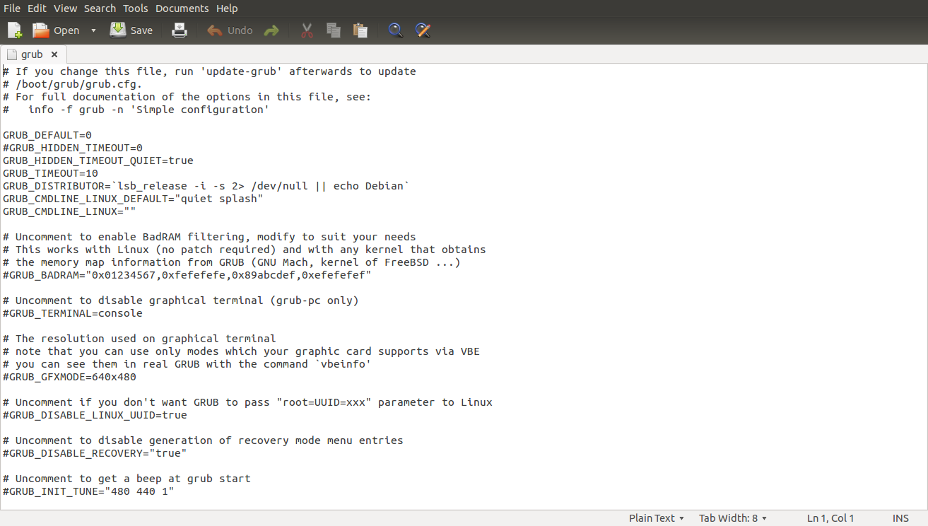 Change Grub 2 Default Time Out In Linux And Ubuntu The