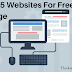 Top 5 websites for free Images