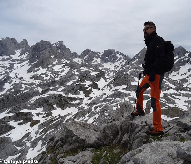 Cima del Camperón en Picos de Europa