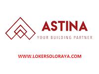 Lowongan Perusahaan Distribusi dan Retail Bahan Bangunan Solo di CV Astina