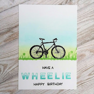 Have a wheelie happy birthday