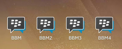 Multi BBM Versi 3.3.4.48 Apk