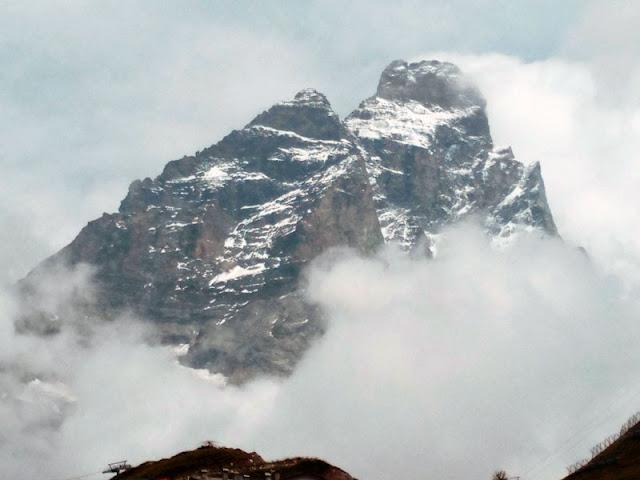 Niebla en el Cervino