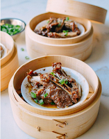 Dim Sum Steamed Beef Short Ribs with Black