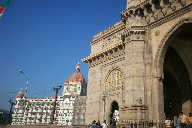Taj Mahal Palace Hotel Mumbai & Gateway of India