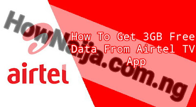 How To Get 3GB Free Data From Airtel TV App