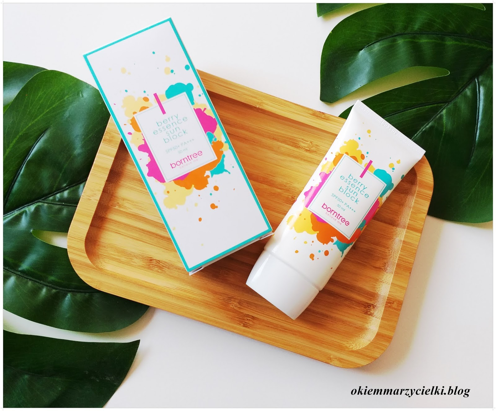 Chroń swoją skórę przed słońcem| Krem przeciwsłoneczny Sunblocker Berry Essence SPF 50+/PA+++, Borntree-recenzja #132