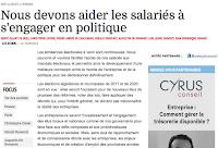 http://www.lesechos.fr/23/09/2015/LesEchos/22029-038-ECH_nous-devons-aider-les-salaries-a-s-engager-en-politique.htm#u1Xdk0PcsB0TRum3.99