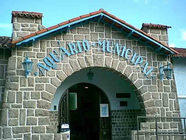 Santos aquário municipal