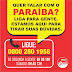 Canal de atendimento Paraíba, ligue!