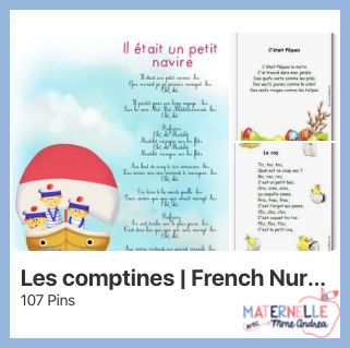 Think that you don't *really* need to sing with your maternelle students? Are you shy to sing with them or avoid it because you think you're not a good enough singer? Don't!! Songs and chants are SO IMPORTANT for our maternelle students if we want them to become strong readers - check out this blog post for all the reasons why!