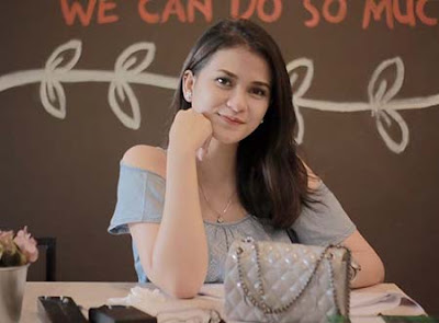 Nadia Edrea pemeran Nyimas Ambar di Kembalinya Raden Kian Santang (KRKS)