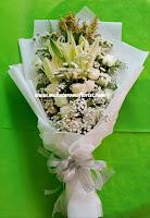 Bunga hand bouquet termurah