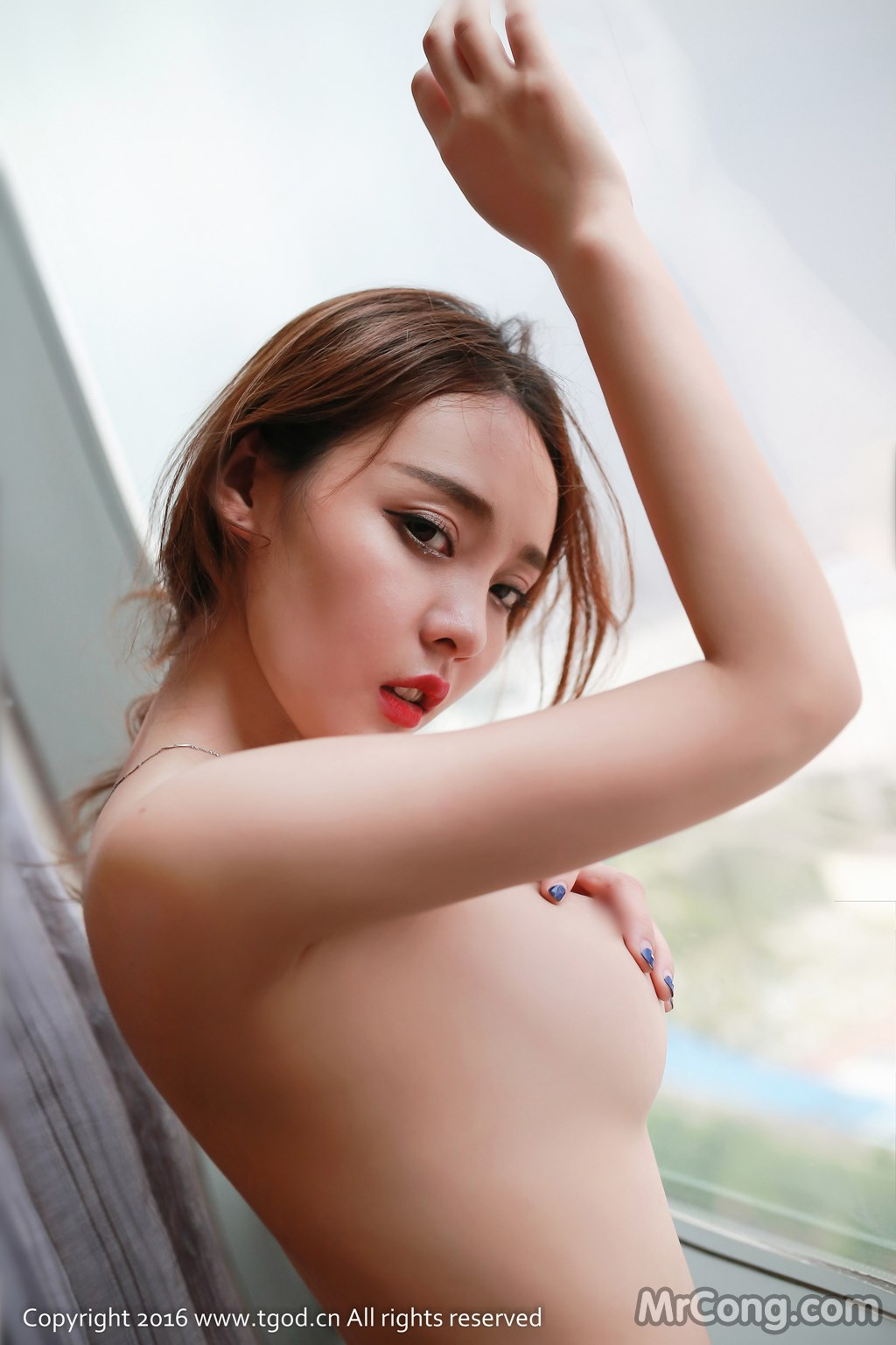 Image MrCong.com-TGOD-2016-07-22-Zhan-Ni-Hua-030 in post TGOD 2016-07-22: Người mẫu Zhan Ni Hua (珍妮花) (40 ảnh)