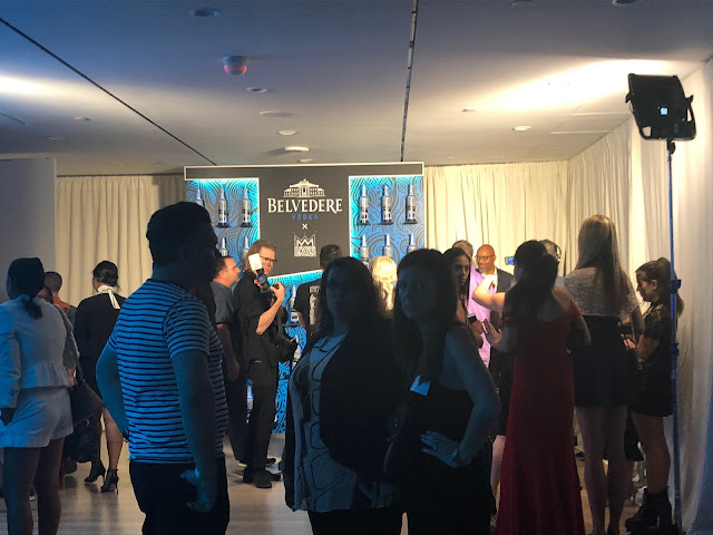 Belvedere Vodka Party during New York Fashion Week