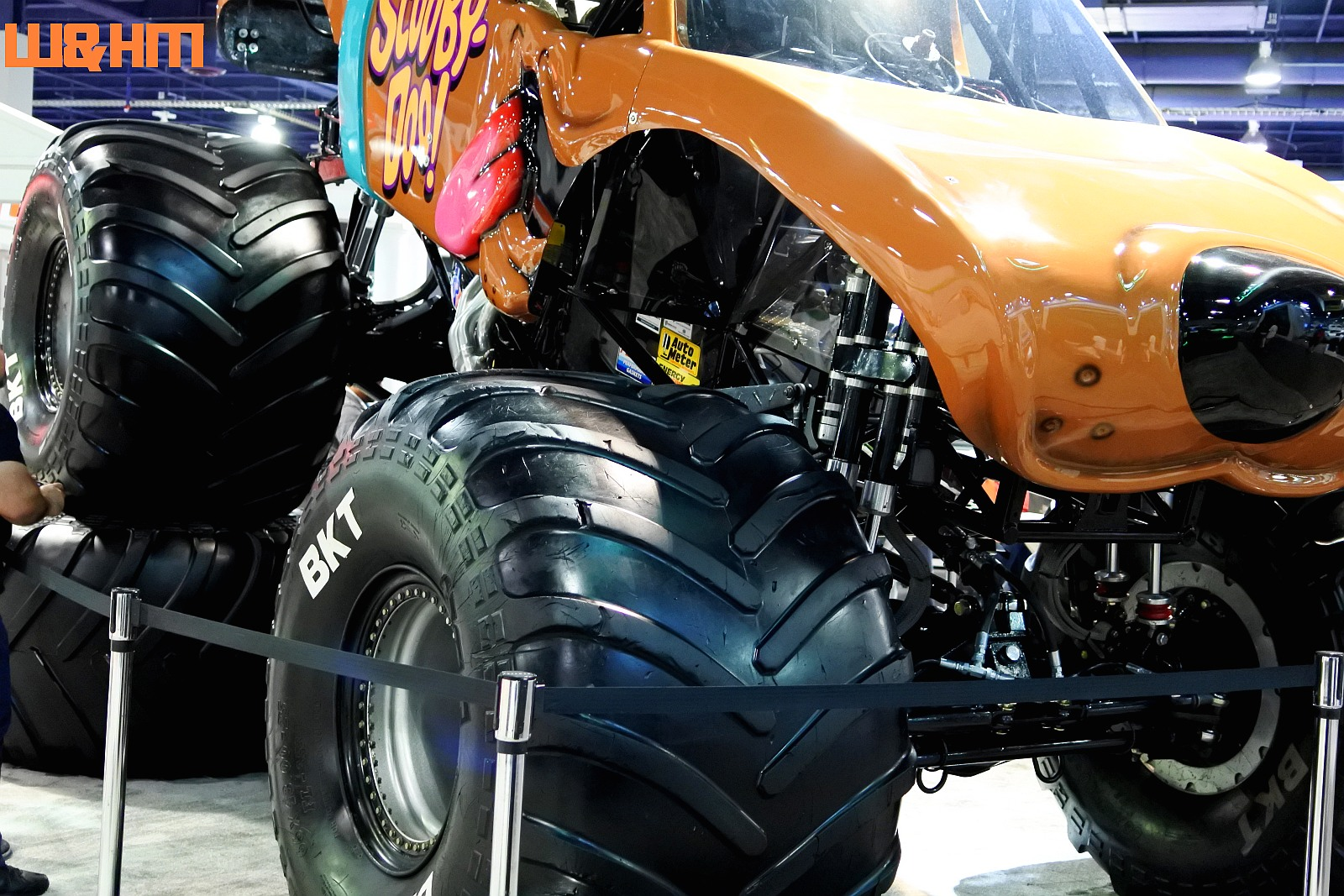 Bkt Tire Company Brought Scooby Doo Monster Truck To Wow