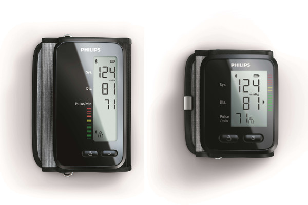 Philips Upper arm blood pressure monitor and Wrist blood pressure monitor