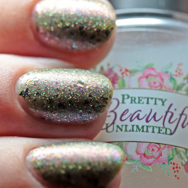 Pretty Beautiful Unlimited Temptation Matte Top Coat over Begin Thy Magic Spell