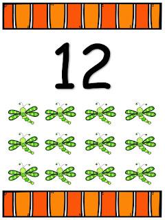 Fichas de Números para Imprimir