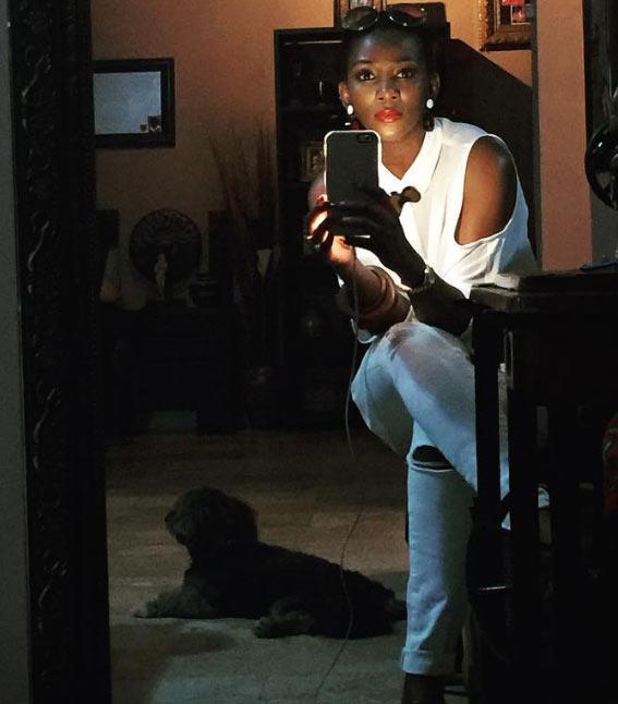 Actress Genevieve Nnaji slays in white ensemble