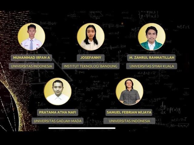 Ini Daftar Lengkap Peraih Juara Kompetisi Nasional Matematika dan Ilmu Pengetahuan Alam  2021