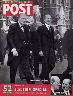 Winston Churchill Election Special magazine cover